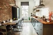 Фото 13 Отделка стен на кухне (48 фото): современные материалы и их особенности