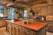 Фото 20 Интерьер кухни в частном доме: как создать эстетичное и комфортное пространство