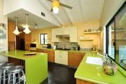 Фото 16 Дизайн кухни зеленого цвета (80+ трендовых интерьеров): модные сочетания оттенков от фисташкового и оливкового до изумруда и хаки