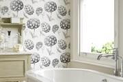 Фото 13 Обои для ванной комнаты (44 фото): опровергая стереотипы
