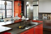 Фото 3 Оранжевые кухни: особенности цветовых комбинаций для энергичных интерьеров