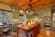 Фото 18 Дизайн кухни зеленого цвета (80+ трендовых интерьеров): модные сочетания оттенков от фисташкового и оливкового до изумруда и хаки