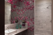 Фото 15 Обои для ванной комнаты (44 фото): опровергая стереотипы