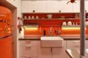 Фото 15 Оранжевые кухни: особенности цветовых комбинаций для энергичных интерьеров