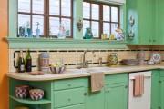 Фото 8 Дизайн кухни зеленого цвета (80+ трендовых интерьеров): модные сочетания оттенков от фисташкового и оливкового до изумруда и хаки