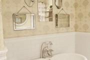 Фото 2 Обои для ванной комнаты (44 фото): опровергая стереотипы