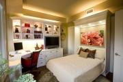 Фото 29 Как преобразить малогабаритную квартиру при помощи откидной кровати?