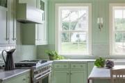 Фото 9 Дизайн кухни зеленого цвета (80+ трендовых интерьеров): модные сочетания оттенков от фисташкового и оливкового до изумруда и хаки