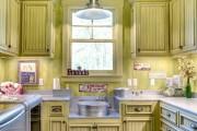 Фото 11 Дизайн кухни зеленого цвета (80+ трендовых интерьеров): модные сочетания оттенков от фисташкового и оливкового до изумруда и хаки