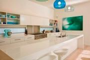 Фото 2 Дизайн кухни белого цвета: 65+ фото свежих и лаконичных дизайнерских проектов