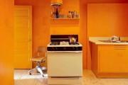 Фото 4 Оранжевые кухни: особенности цветовых комбинаций для энергичных интерьеров