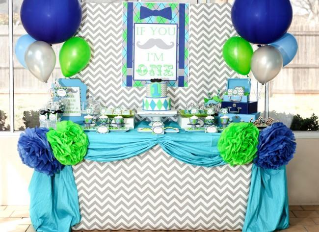 Летний стол для дня рождения