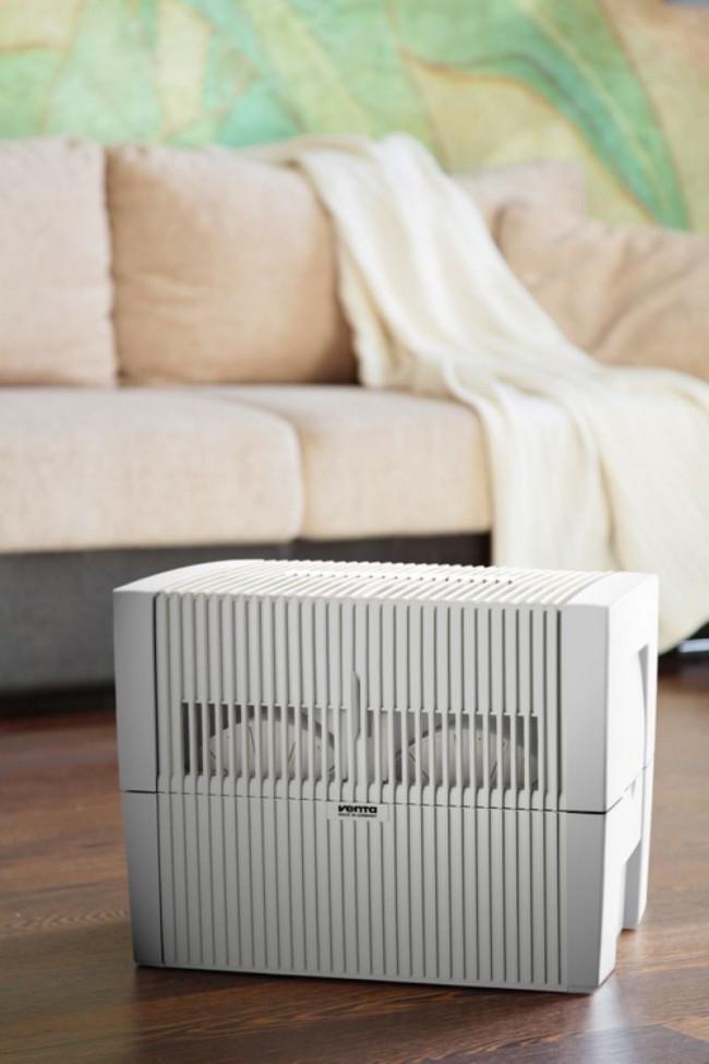 Мойки воздуха – очищают воздух с помощью воды и одновременно увлажняют его