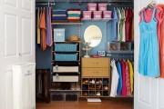 Фото 15 Место всегда найдется: 70+ восхитительно практичных идей переделки гардеробной из кладовки