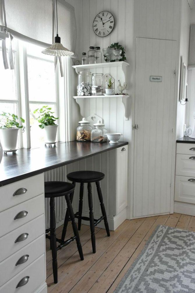 Дизайн маленьких кухонь с барной стойкой