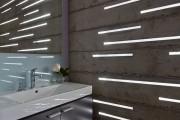 Фото 2 Освещение в ванной комнате: выбираем оптимальный световой сценарий