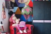 Фото 7 Обои для детской комнаты девочки: 44 интерьера, которые придутся по душе ребенку