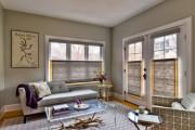 Фото 18 Рулонные шторы на пластиковые окна (38 фото): эстетика и функциональность