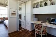 Фото 13 Дверь-гармошка: плюсы-минусы, этапы установки и 65+ стильных вариантов в интерьере