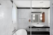 Фото 7 Черно-белая ванная комната (56 фото): шик и оригинальность в вашем доме