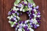 Фото 21 Искусственные цветы для домашнего интерьера: как эффектно украсить жилище