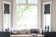 Фото 1 Рулонные шторы на пластиковые окна (38 фото): эстетика и функциональность