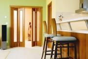 Фото 21 Дверь-гармошка: плюсы-минусы, этапы установки и 65+ стильных вариантов в интерьере