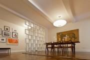 Фото 16 Стеллаж-перегородка для комнаты (40 фото): оригинально, функционально и ненавязчиво