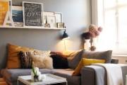 Фото 3 Cочетания серого цвета в интерьере (41 фото): сдержанное великолепие