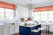 Фото 3 Шторы для кухни — 2019: стильные новинки (75 фото)