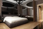 Фото 2 Натяжные потолки для спальни (40 фото): романтично, стильно и практично