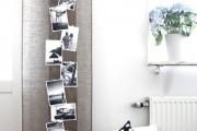 Фото 7 Оформление стены фотографиями: яркие мгновенья жизни в интерьере