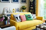 Фото 1 Комбинированные обои для зала: как оригинально оформить комнату?