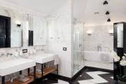 Фото 10 Дизайн белой ванной комнаты (75 фото): «чистая» гармония