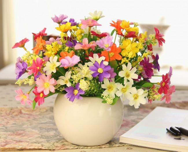 Цветы искусственные для интерьера купить в москве купитьцветы комнатные стапелия