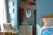 Фото 21 Гардеробная из кладовки (50 фото): ищем место для вещей