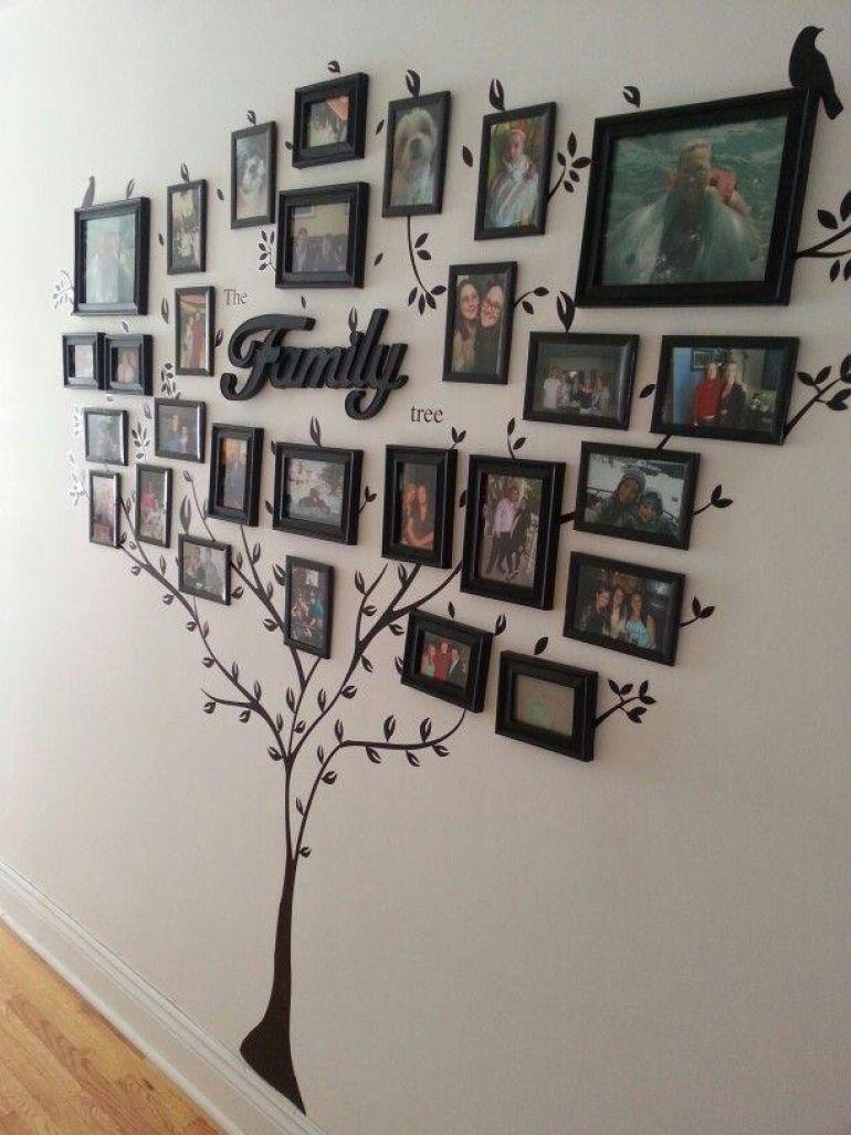 Как делать фото на стене