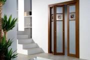 Фото 3 Дверь-гармошка (54 фото): чтобы все, как по нотам
