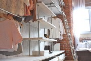 Фото 6 Место всегда найдется: 70+ восхитительно практичных идей переделки гардеробной из кладовки