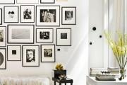 Фото 3 Оформление стены фотографиями: яркие мгновенья жизни в интерьере