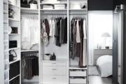 Фото 7 Место всегда найдется: 70+ восхитительно практичных идей переделки гардеробной из кладовки