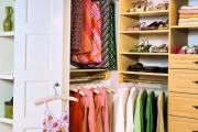 Фото 22 Место всегда найдется: 70+ восхитительно практичных идей переделки гардеробной из кладовки