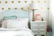 Фото 6 Обои для детской комнаты девочки: 44 интерьера, которые придутся по душе ребенку
