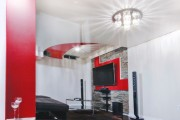 Фото 11 Натяжные потолки для спальни (40 фото): романтично, стильно и практично