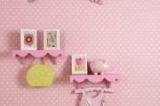 Фото 8 Обои для детской комнаты девочки: 44 интерьера, которые придутся по душе ребенку