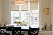 Фото 14 Рулонные шторы на пластиковые окна (38 фото): эстетика и функциональность
