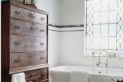 Фото 11 Черно-белая ванная комната (56 фото): шик и оригинальность в вашем доме