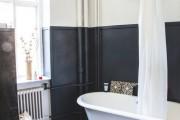 Фото 15 Черно-белая ванная комната (56 фото): шик и оригинальность в вашем доме