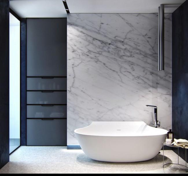 Преимущества акриловых ванн, в первую очередь, состоят в том, что они могут быть любой формы и размера