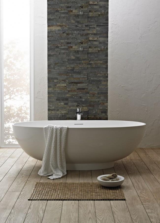Стильный интерьер с акриловой ванной